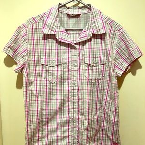The North Face Women's XL button down shirt